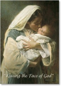 Blank Card with Quote / Saying - Kissing the Face of God | Morgan Weistling | 1_2002867-P | Leanin' Tree