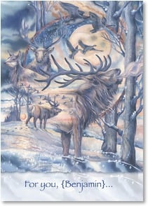 Birthday Card - Celebrating the gift of your magnificent spirit. | Jody Bergsma | 1_2002892-P | Leanin' Tree