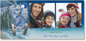 New Year's Day Card - May all your dreams come true in 2013! | Jody Bergsma | 1_2003337-P | Leanin' Tree