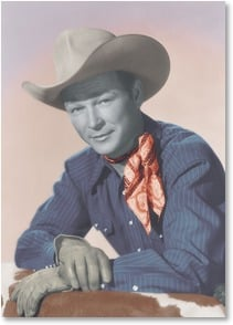 Birthday Card - To the best of the good guys! | Roy Rogers | 1_2003901-P | Leanin' Tree