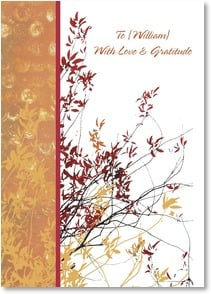 Thanksgiving Card {Name} - You give me so many reasons to be thankful. | Erin Clark | 1_2004296-P | Leanin' Tree
