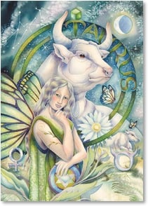 Blank Card with Quote / Saying - Taurus | Jody Bergsma | 1_2004457-P | Leanin' Tree