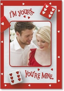 Valentine's Day Card - We Win! | SuperStock, Inc. | 2000141-P | Leanin' Tree