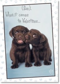 Valentine's Day Card - I chews you! | Rachael Hale® | 2000158-P | Leanin' Tree