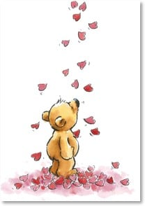 Valentine's Day Card - Staff Pick - Showers of Love - 2000166-P | Leanin' Tree