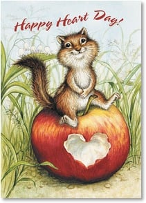 Valentine's Day Card - Every happiness your heart can hold! | Lisa McCue | 2000175-P | Leanin' Tree