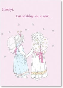 Valentine's Day Card - Wishing On A Star | Jayne Oliver | 2000178-P | Leanin' Tree