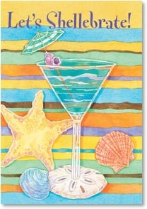 Birthday Card - An umbrella-in-your-drink kind of day! | Andrea Tachiera | 2000246-P | Leanin' Tree