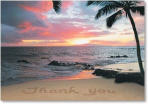 Thank You & Appreciation Card - Shore Appreciate It! | Susan Y. Davis | 2000265-P | Leanin' Tree