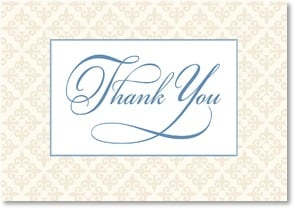 Thank You & Appreciation Card - Warm Elegance | LT Studio | 2000267-P | Leanin' Tree