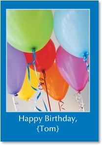 Birthday Card {Name} - All The Best To You | Masterfile Corporation | 2000269-P | Leanin' Tree
