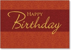 Birthday Card - Birthday Elegance | LT Studio | 2000276-P | Leanin' Tree