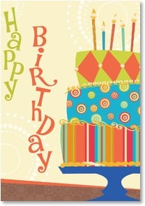 Birthday Card - Whimsical Wishes | LT Studio | 2000277-P | Leanin' Tree