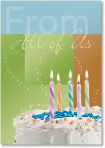 Birthday Card from All of Us - A Wish From All of Us | Getty Images | 2000279-P | Leanin' Tree
