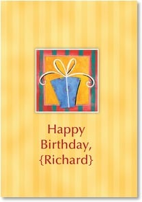 Birthday Card {Name} - Wrapped in Sunshine | Robin Roderick | 2000285-P | Leanin' Tree