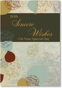 Birthday Card - Nature's Birthday Wishes | LT Studio | 2000286-P | Leanin' Tree