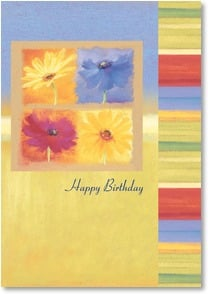 Birthday Card - Daisies for Your Birthday | Nel Whatmore | 2000289-P | Leanin' Tree