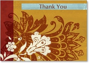 Thank You & Appreciation Card - Thank You | ARTLY | 2000290-P | Leanin' Tree
