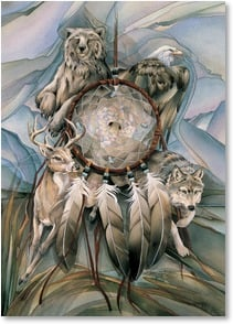 Birthday Card - A Spirit that Cannot Be Tamed | Jody Bergsma | 2000308-P | Leanin' Tree