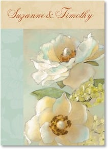 Thank You Card - Wedding Gift - Magnolia Thank You | Dianne Woods | 2000332-P | Leanin' Tree