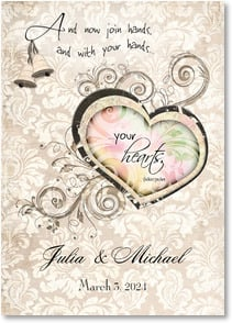 Wedding Invitation - Your Hearts Wedding Invitation | Connie Haley | 2000337-P | Leanin' Tree