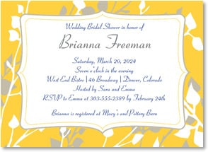 Engagement Invitation - It's a Bridal Shower... | LT Studio | 2000454-P | Leanin' Tree