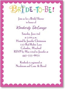 Engagement Invitation - Celebrate the Bride-To-Be! | LT Studio | 2000457-P | Leanin' Tree