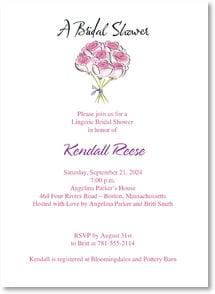 Engagement Invitation - A Bridal Shower... | Anne Keenan Higgins | 2000460-P | Leanin' Tree