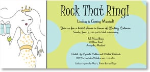 Engagement Invitation - Rock That Ring! | Working Girls Design, Inc. | 2000461-P | Leanin' Tree