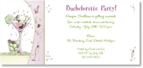 Engagement Invitation - It's A Bachelorette Party! | Maria Woods | 2000466-P | Leanin' Tree