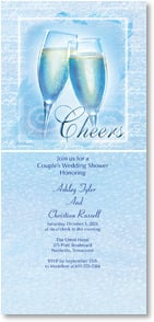 Wedding Invitation - Cheers! | Gail Marie® | 2000467-P | Leanin' Tree