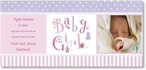 Baby Announcement - Our Baby Girl is Here! | Tricia Harrison | 2000496-P | Leanin' Tree