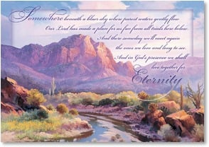 Sympathy Card - God's Comfort and Peace | Beverly Carrick | 2000515-P | Leanin' Tree