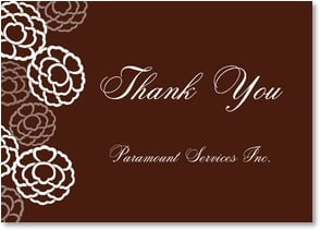 Thank You Card {Name} - Thank You {Name} With special thanks and appreciation. | LT Studio | 2000525-P | Leanin' Tree