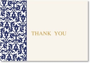 Thank You &amp; Appreciation Card - Elegant Fleur de Lis | LT Studio | 2000535-P | Leanin' Tree