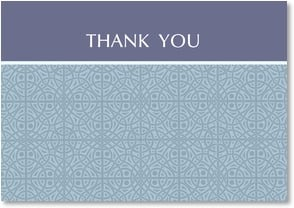 Thank You & Appreciation Card - Dusty Blues | LT Studio | 2000539-P | Leanin' Tree