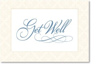 Get Well Card - Warm & Sincere Wishes | LT Studio | 2000540-P | Leanin' Tree