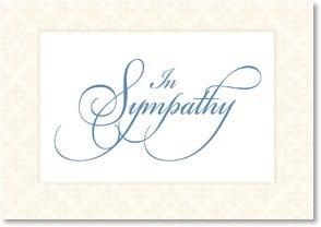 Sympathy Card - Thinking of you, Wishing you peace | LT Studio | 2000541-P | Leanin' Tree