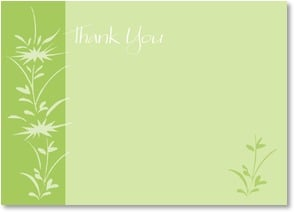 Thank You Note - Thank You | LT Studio | 2000552-P | Leanin' Tree