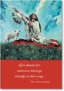 Birthday Card - Blessings to You  | Richard Luce | 2000582-P | Leanin' Tree