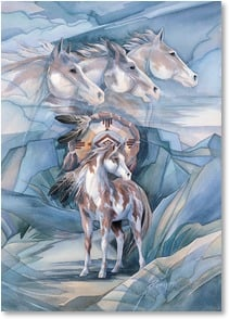 Motivation & Inspiration Card - Vision, Courage and Strength | Jody Bergsma | 2000604-P | Leanin' Tree