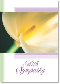 Sympathy Card - Sharing In Your Sorrow | Fotosearch | 2000654-P | Leanin' Tree