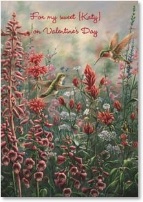 Valentine's Day Card - Memories Shared | Wanda Mumm | 2000679-P | Leanin' Tree