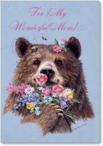 Mother's Day Card - The Beary Best Mom! | Joy Campbell | 2000691-P | Leanin' Tree