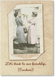 Friendship Card - ...and to Shopping! | Maggie Mae Sharp | 2000716-P | Leanin' Tree