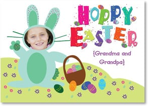 Easter Card - Hoppy Easter | LT Studio | 2000738-P | Leanin' Tree