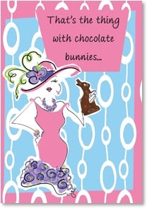 Easter Card - That's the Thing! | Working Girls Design, Inc. | 2000739-P | Leanin' Tree