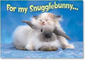 Easter Card - So Cute You Make My Nose Wiggle | Kimball Stock | 2000744-P | Leanin' Tree