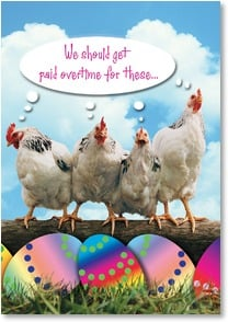 Easter Card - Have An Eggcellent Easter | Fotosearch | 2000751-P | Leanin' Tree