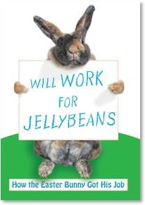 Easter Card - Our job?  Work OFF the jelllybeans! | Getty Images | 2000754-P | Leanin' Tree